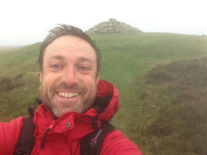 Mark on Clwyddian Ranges