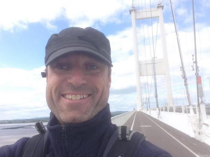 Mark over Severn Bridge