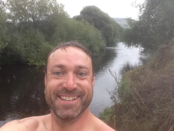 Mark wild swimming